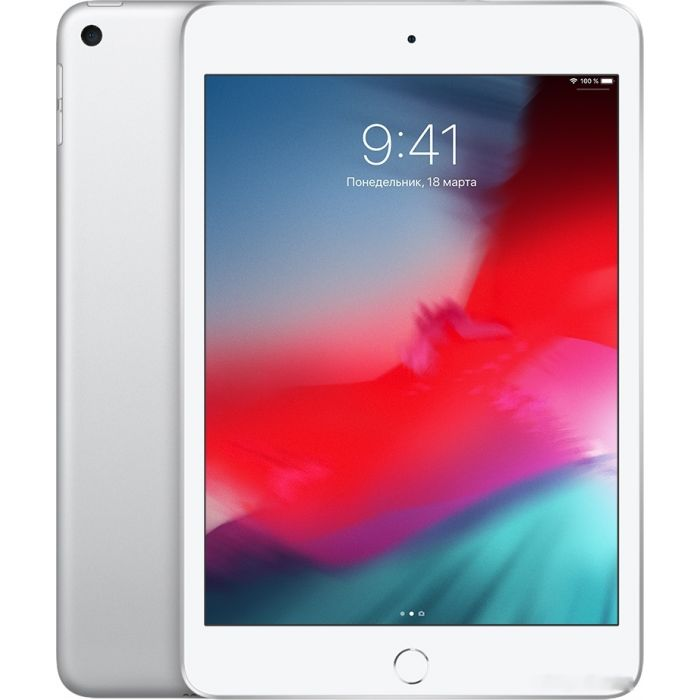 Apple iPad mini 2019 64GB MUQX2 (серебристый)