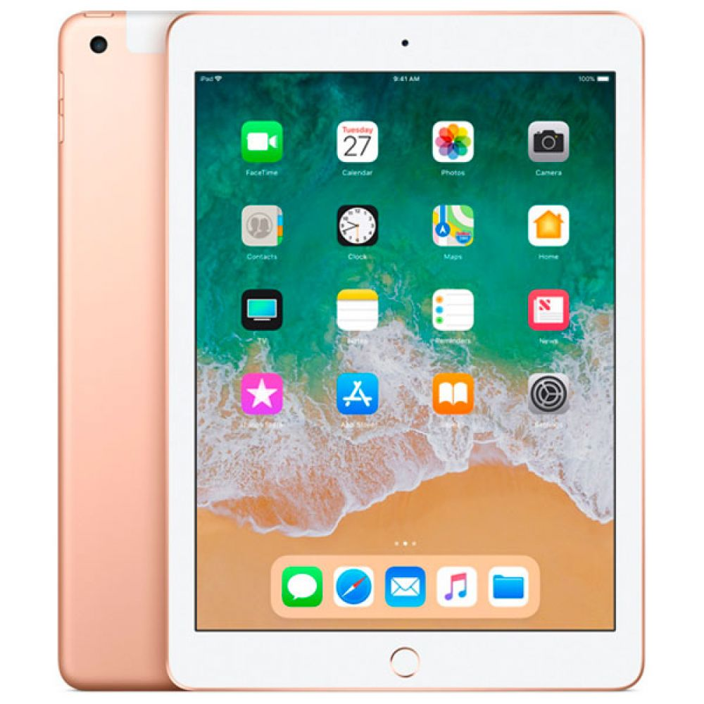 Apple iPad 2018 128GB LTE MRM22 (золотой)