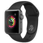 Apple Watch Series 3 38 мм (алюминий серый космос/серый) (MR352)