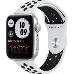 Apple Watch SE Nike 44 мм (алюминий серебристый/чистая платина) (MYYH2)