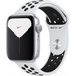Apple Watch Nike Series 5 44 мм (алюминий серебристый/чистая платина)(MX3V2)