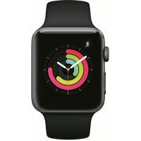 Apple Watch Series 3 42 мм (алюминий серый космос/черный) (MTF32)