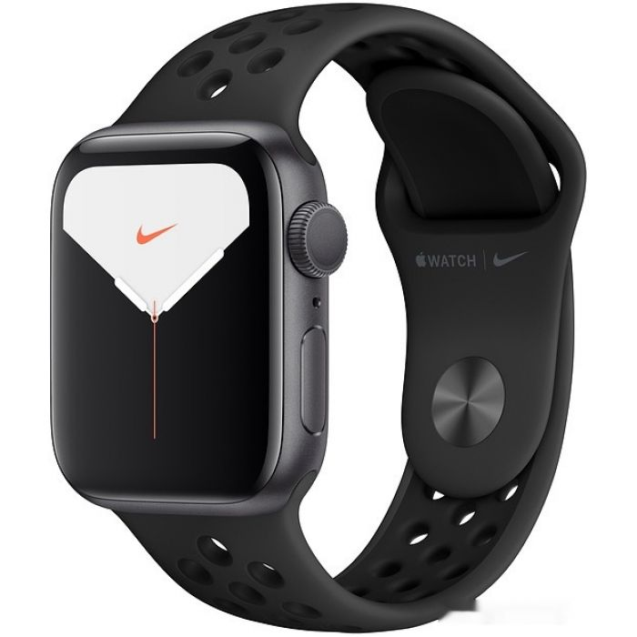 Apple Watch Nike Series 5 40 мм (алюминий черный космос/антрацит) (MX3T2)