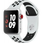 Apple Watch Nike Series 6 40 мм (Silver/Pure Platinum Black) (M00T3)