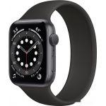 Умные часы Apple Watch Series 6 44 мм (алюминий серый космос/черный) (M00H3)