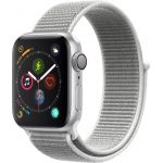 Apple Watch Series 4 Sport 40mm Silver Aluminum Case with Seashell Sport Loop (MU652)