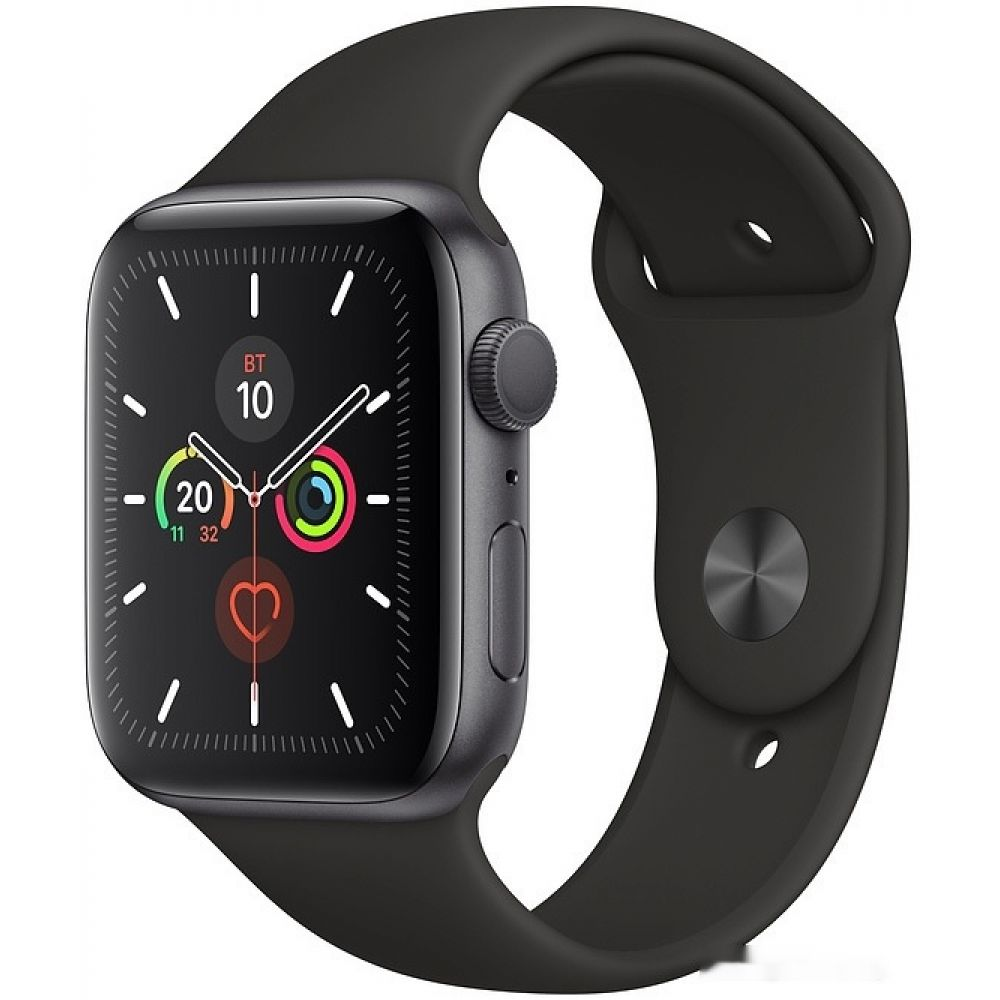 Apple Watch Series 5 44 мм (алюминий серый космос/черный спортивный)(MWVF2)