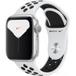Apple Watch Nike Series 5 40 мм (алюминий серебристый/чистая платина) (MX3R2)