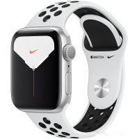 Apple Watch Nike Series 5 40 мм (алюминий серебристый/чистая платина)(MX3R2)
