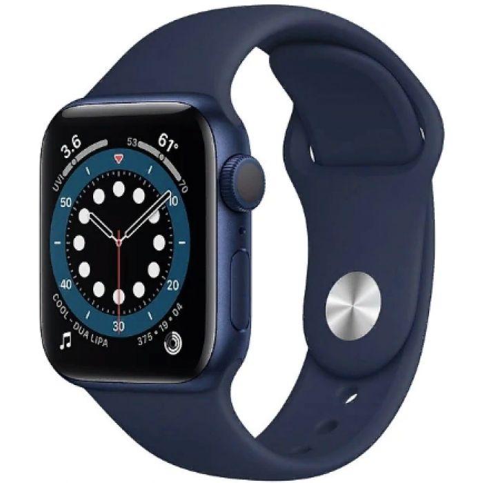 Apple Watch Series 6 44 мм (алюминий синий/темный ультрамарин) (M00J3)