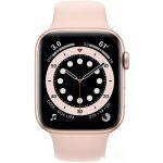 Apple Watch Series 6 44 мм (алюминий золотистый/розовый песок) (M00E3)