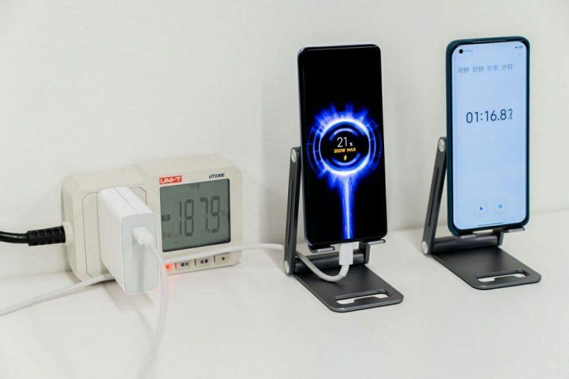 xiaomi представила сверхбыструю зарядку